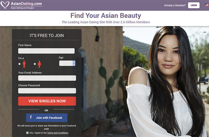 Asian only dating site