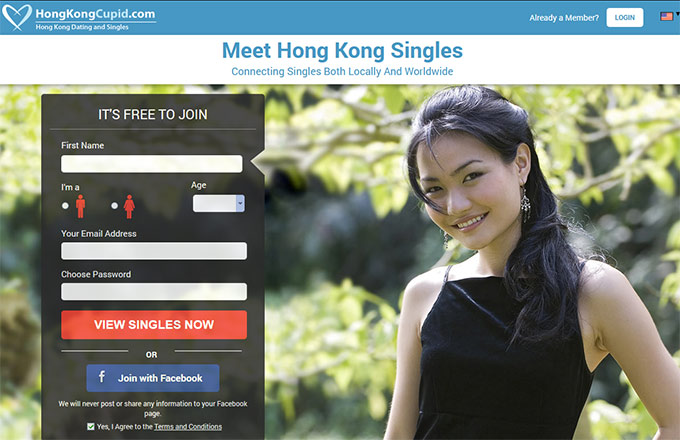 Online dating site in hong kong